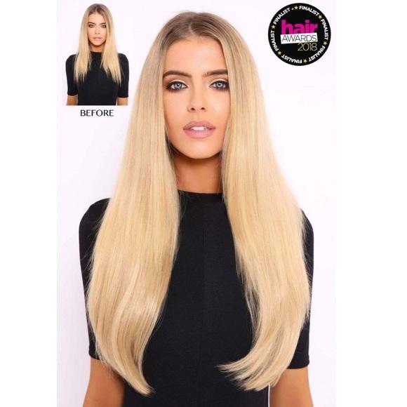 Lullabellz Accessories Nwt Light Golden Blonde Straight Hair